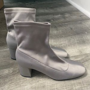 Zara boots satin size 37